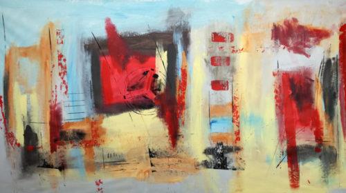 quadri-astratti-moderni-rosso-nero-b34